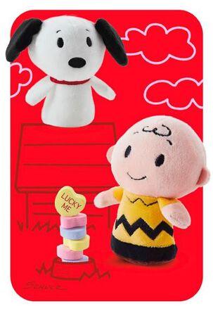 Peanuts® itty bittys® Greetings Valentine Card