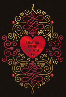 Happily Ever After Religious Valentine's Day Card,