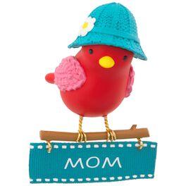 Winter Bird Mom Ornament, , large