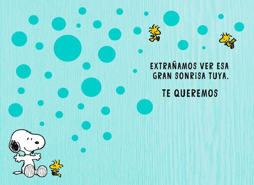 Peanuts® Gang Spanish-Language Card From Us,