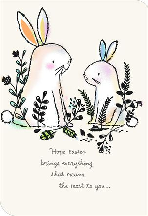 You Mean So Much Easter Card