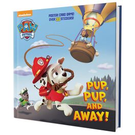 Pup, Pup, and Away! Paw Patrol Super-Deluxe Book, , large