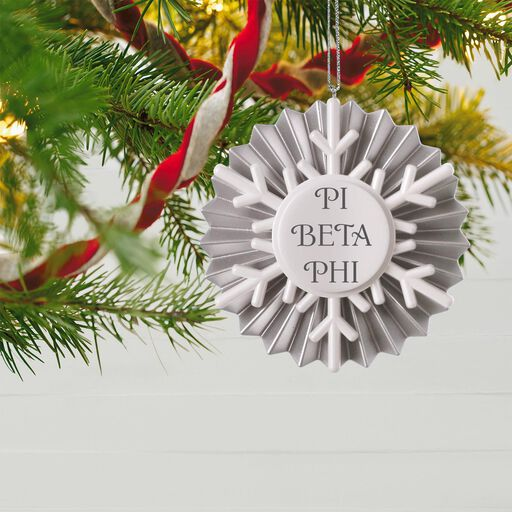dd33ef20c1 Shimmery Snowflake Personalized Ornament