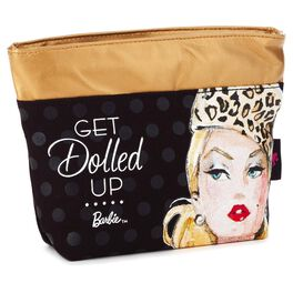 Barbie™ Dolled Up Zippered Makeup Bag, , large