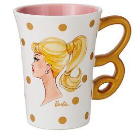 Classic Barbie™ Profile Ceramic Mug, 12 oz., , large