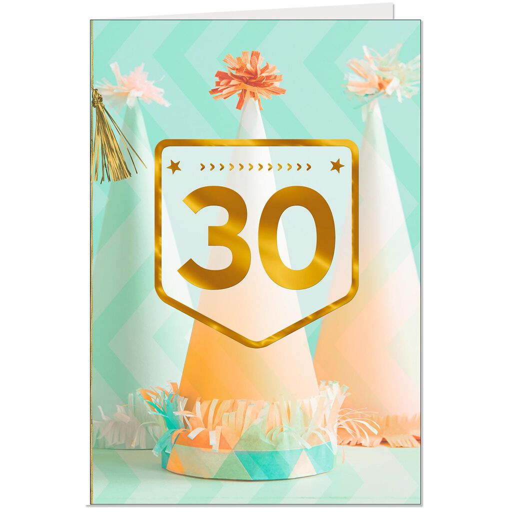 Day To Smile 30th Birthday Card