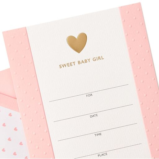 557e350c5bb8 ... Sweet Baby Girl Shower Invitation