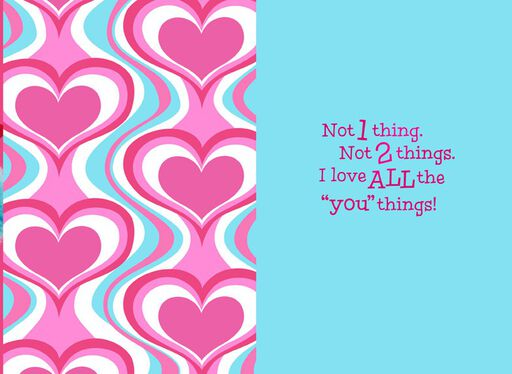 Dr. Seuss™ itty bittys® Greetings Valentine Card,