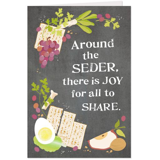 Seder Food Passover Cards Pack Of 6