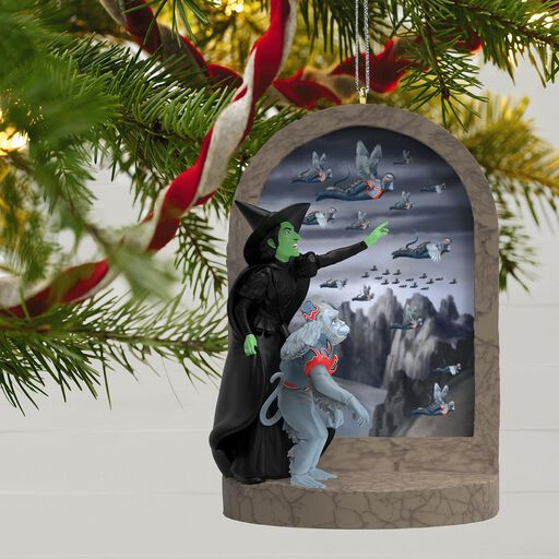 the wizard of oz monkey business ornament with sound