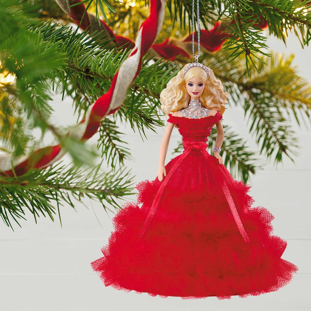 2018 Holiday Barbie™ Doll Ornament - Keepsake Ornaments - Hallmark