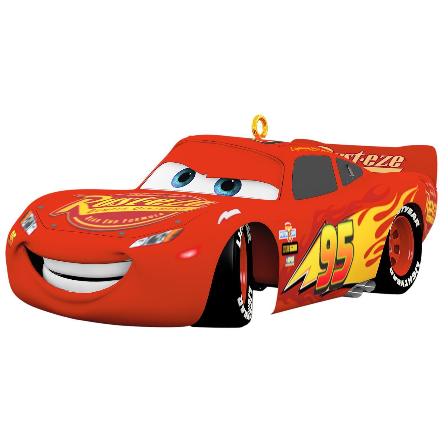 Disney cars 3 lightning mcqueen sound ornament keepsake ornaments hallmark