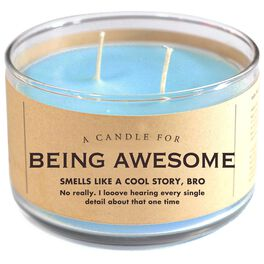 Being Awesome Candle, 17 oz., , large