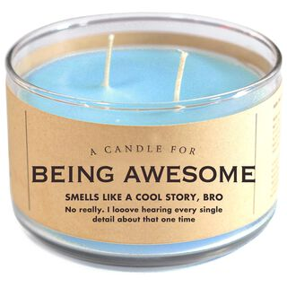 Being Awesome Candle, 17 oz.,