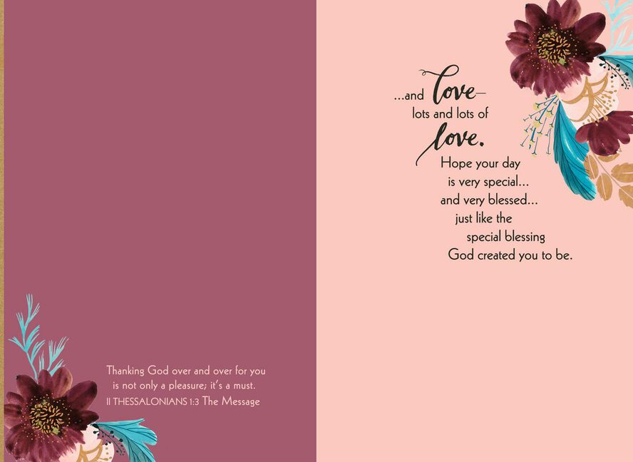 Youre A Blessing Religious Birthday Card For Mom Greeting Cards