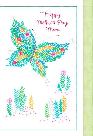 Love You More Than Words Can Say Mother's Day Card