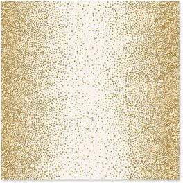 Gold Glitter Wrapping Paper, 1 Sheet, , large