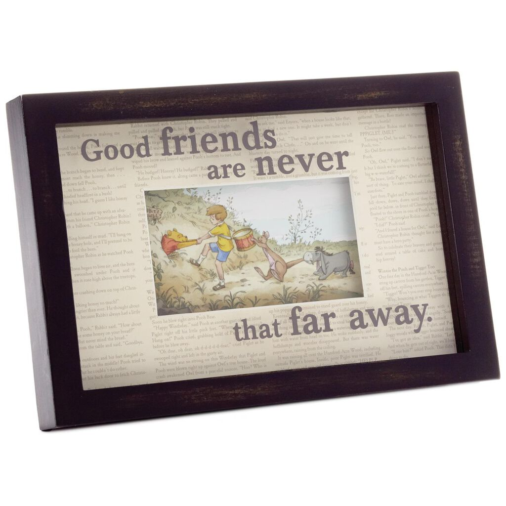 Good Friends Winnie The Pooh Framed Print Framed Art Prints