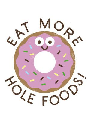 More Hole Foods Donut Birthday Card