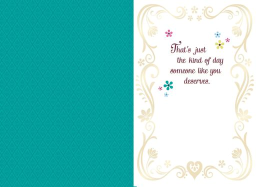 Disney Frozen Fun Happiness Magic Musical Birthday Card,