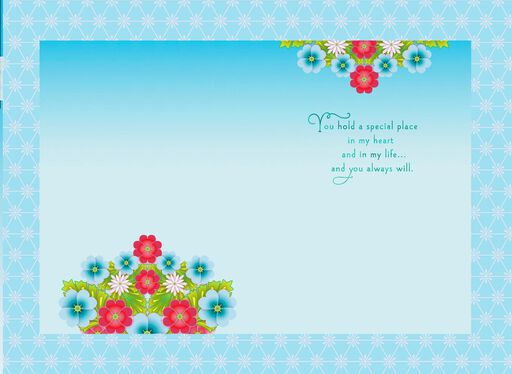 Catalina Estrada Cascading Flowers Mother's Day Card,