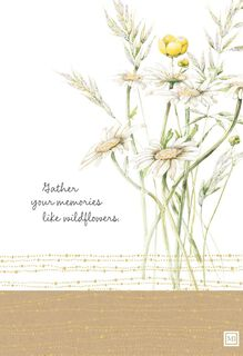 Gather Memories Marjolein Bastin Sympathy Card,