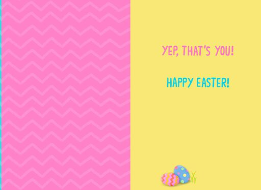 Greeting cards hallmark fuzzy bunny tons of heart easter card for kids negle Image collections