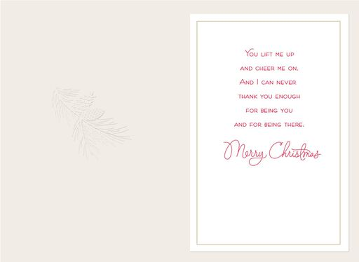 So Grateful for You Christmas Card for Mom,