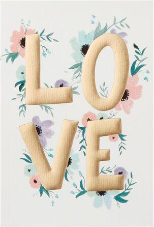 Love You Always Romantic Card