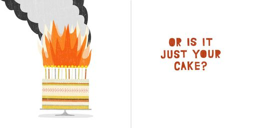 Hot in Here Musical Birthday Card,