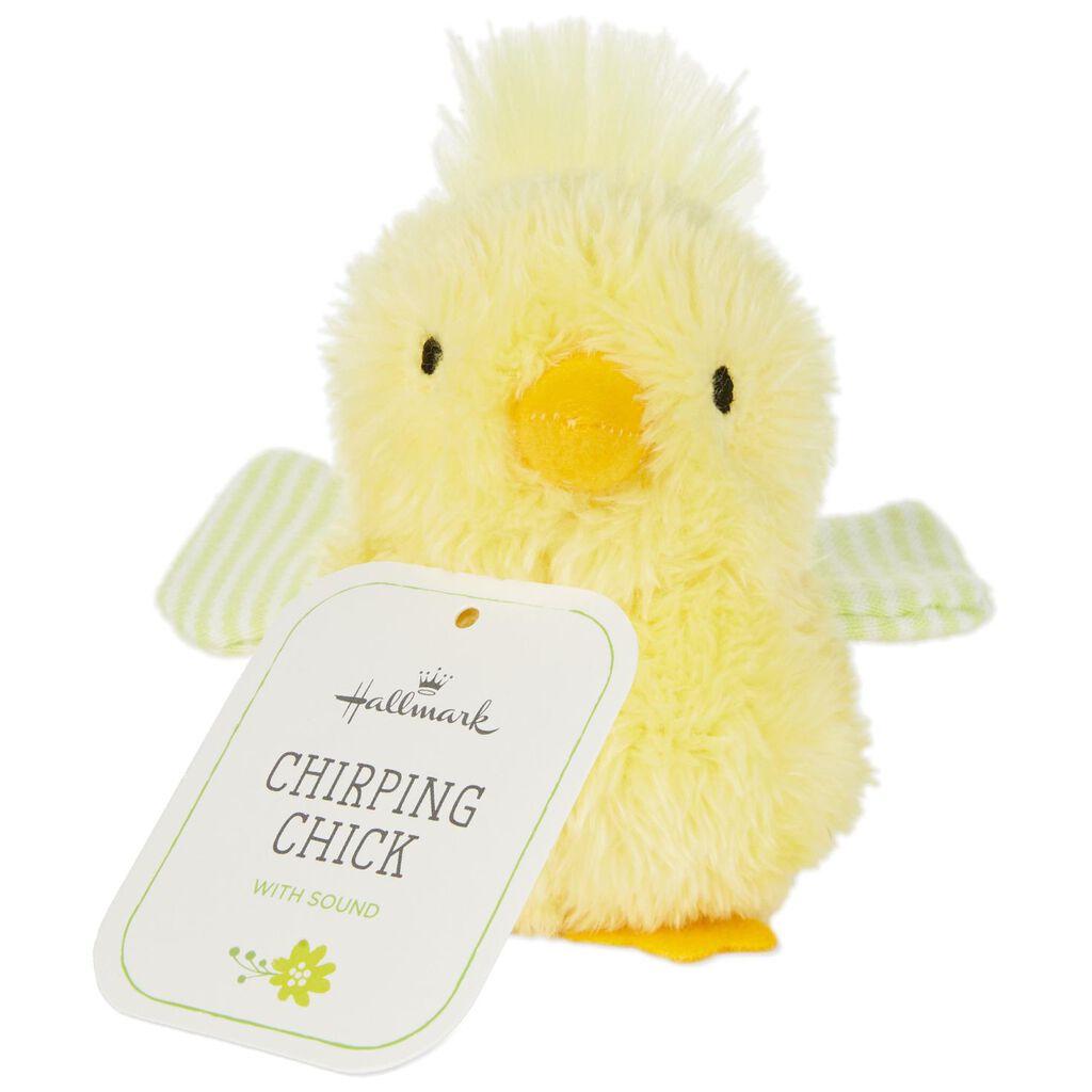 Chirping Chick Stuffed Animal 3 75 Interactive Stuffed Animals