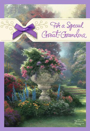 Thomas Kinkade For a Special Great-Grandma Birthday Card