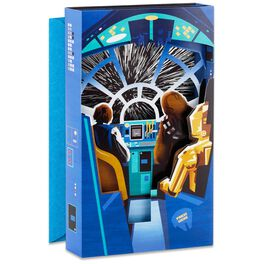 Star Wars™ Millennium Falcon™ Musical Father's Day Card With Light, , large