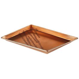 Art of Gathering Rose Gold Trinket Tray, 9x6, , large