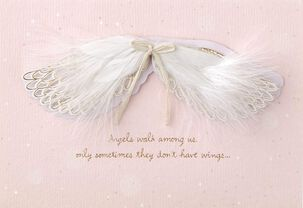 Angel Wings Mother's Day Card