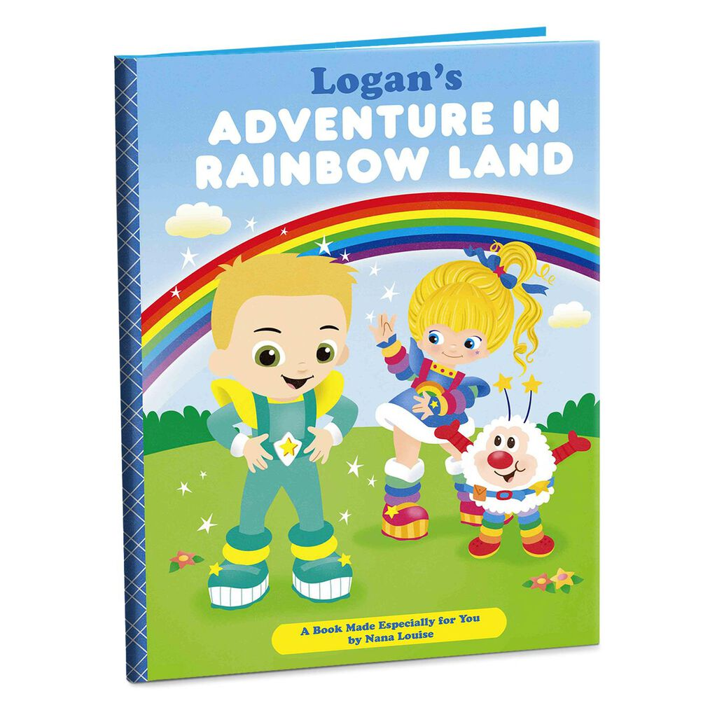 Rainbow Brite Personalized Book