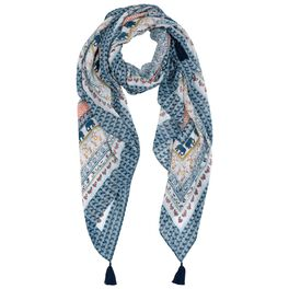 Mark & Hall Pattern Scarf, , large