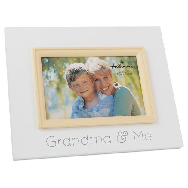 grandma and me wood photo frame 4x6