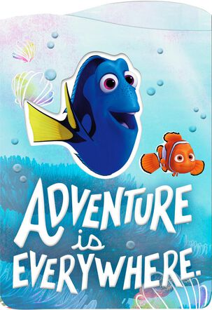Disney/Pixar Finding Dory Birthday Card With Sticker