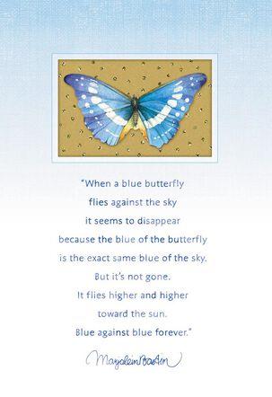 Wishing You Comfort Marjolein Bastin Sympathy Card