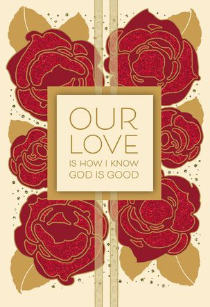 Perfect Love Romantic and Religious Valentine's Day Card