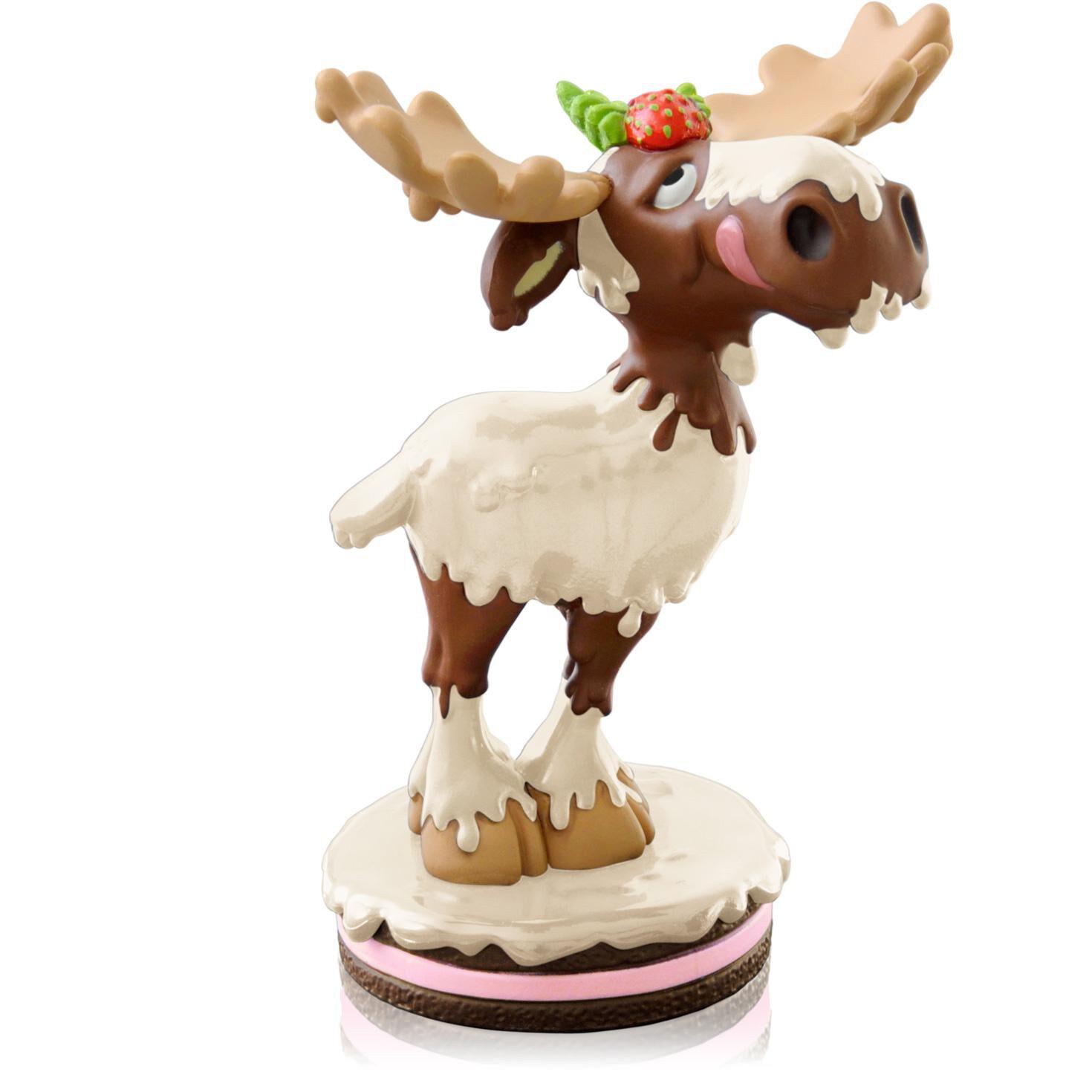White Chocolate Moose - Keepsake Ornaments - Hallmark