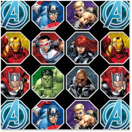 Marvel Avengers Assemble Wrapping Paper Roll, 25 sq. ft., , large