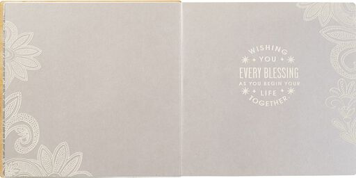 A Wish for Every Blessing Wedding Card,