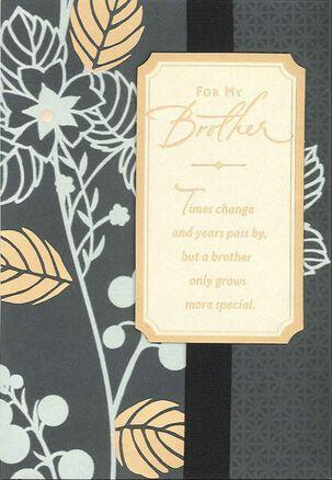 Wonderful Brother Birthday Card