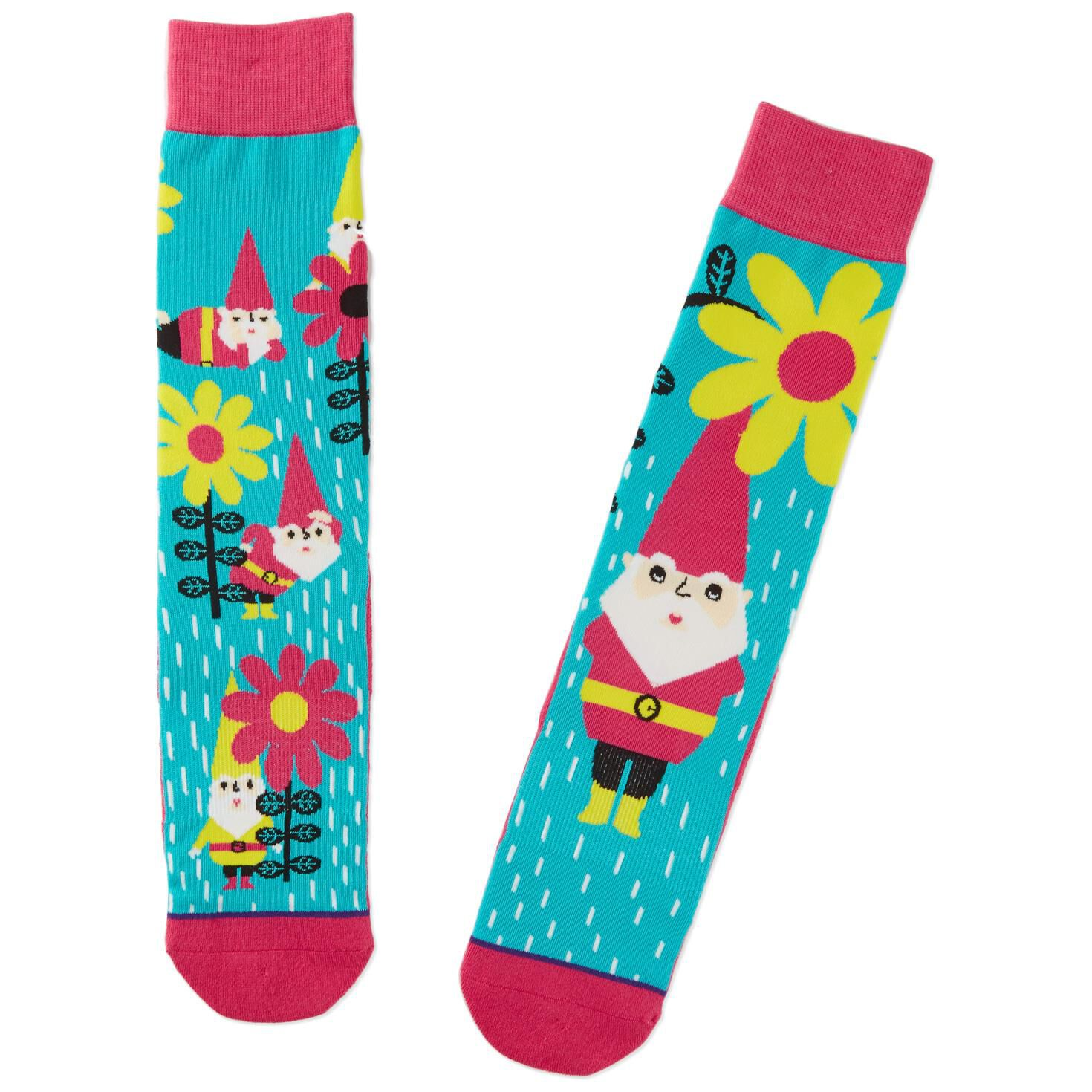 Garden Gnome Toe of a Kind Socks Socks Shoes Hallmark