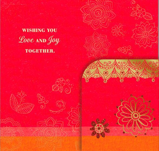 Today, Tomorrow, Forever Money Holder Wedding Card,