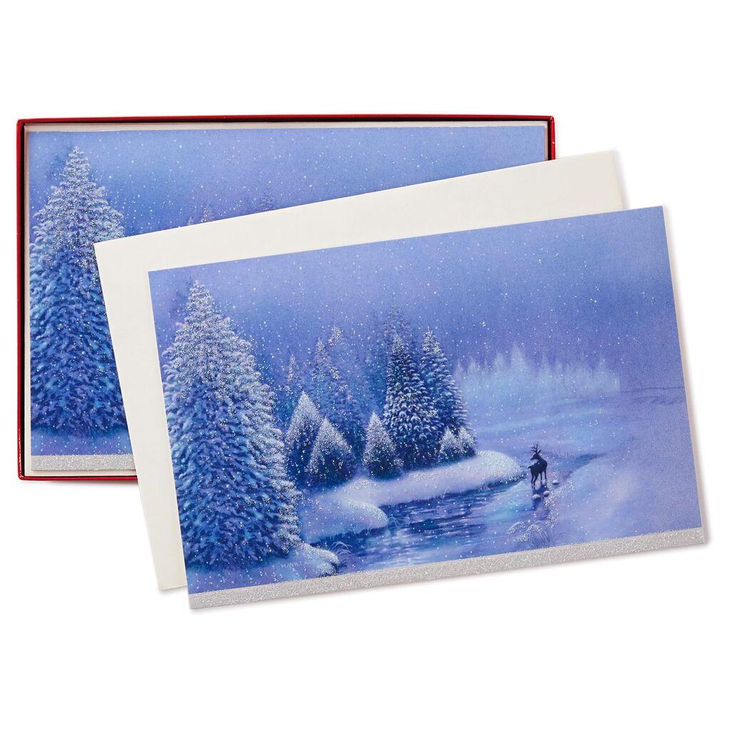 Peace on Earth Christmas Cards, Box of 40 - Boxed Cards - Hallmark