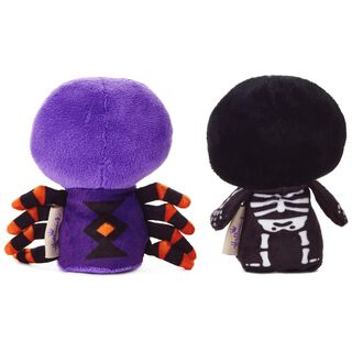 itty bittys® Halloween Spider and Skeleton Stuffed Animals, Set of 2,