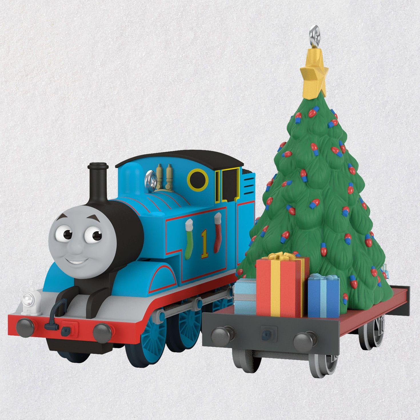 Thomas The Train Christmas Set.Thomas The Tank Engine A Tree For Thomas Ornament Set Of 2